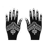 GBKGDH Tatuajes Plantilla de Henna Profesional Tatuaje Temporal Tatuaje Corporal Art Pegatina...