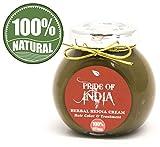 Orgullo de la India – Crema de color de henna a base de hierbas, 100% natural, sin productos...