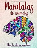 Mandalas de animales: 50 mandalas de animales para niños a partir de 10 años, creatividad,...