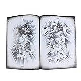 harayaa Libro de Tatuajes de Estilo Chino, Arte Corporal, 70 Páginas A4