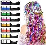 XIMU Tiza para el cabello, Tintes capilares con tiza Pluma de tinte temporal para el cabello de...