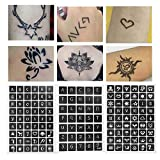 Plantilla de tatuajes, hecha de refileno resina tatuaje plantilla de tatuaje henna tatuaje