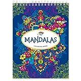 Libros Mandalas Colorear Adultos por Colorya, Papel Calidad Premium, Sin Manchas, Impresión A Una...