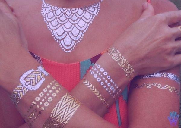 tatuaje-dorado-metalizados-temporal