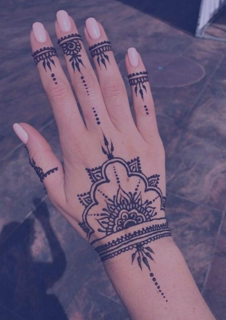 india-henna-tatuaje