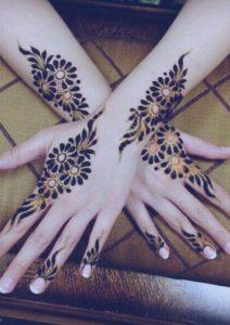 tatuaje-flores-henna