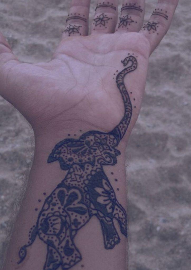 tatuaje-elefante-henna