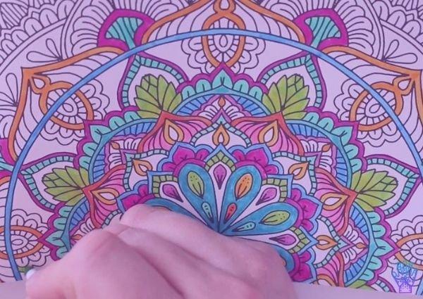 mandalas para colorear y pintar