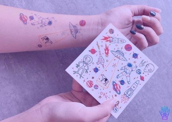 como-aplicar-tatuajes-temporales