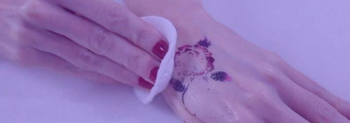 eliminar tatuajes falsos